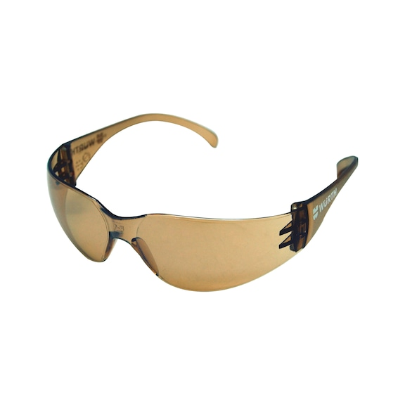 Safety glasses - BROWN