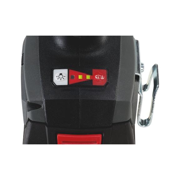 Akülü darbeli vidalama makinesi ASS 18-A EC Combi - IMPSCRDRIV-CORDL-(ASS18-A EC COMB)-2X5AH