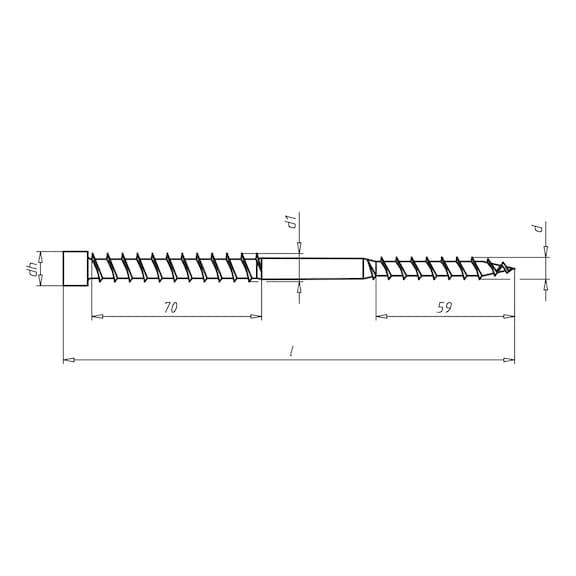 ASSY<SUP>®</SUP> Isotop Vis de montage à distance pour sarking - 2