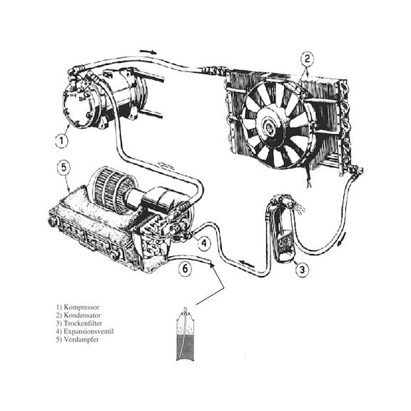 Airconditionspray, overfladerens - KLIMA DESINFEKTIONSSPRAY, 300 ML.