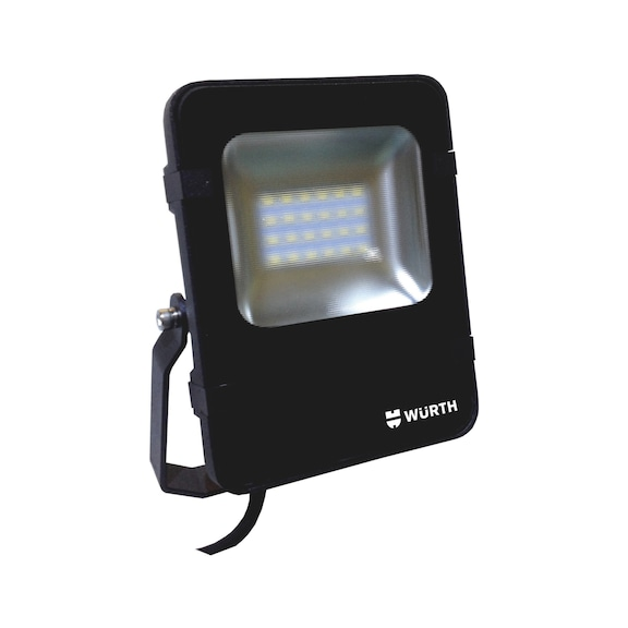 Spotlight de fachada LED c/ caixa de proteção fina - PROJETOR LED FLOODLIGHT 25W 5700K