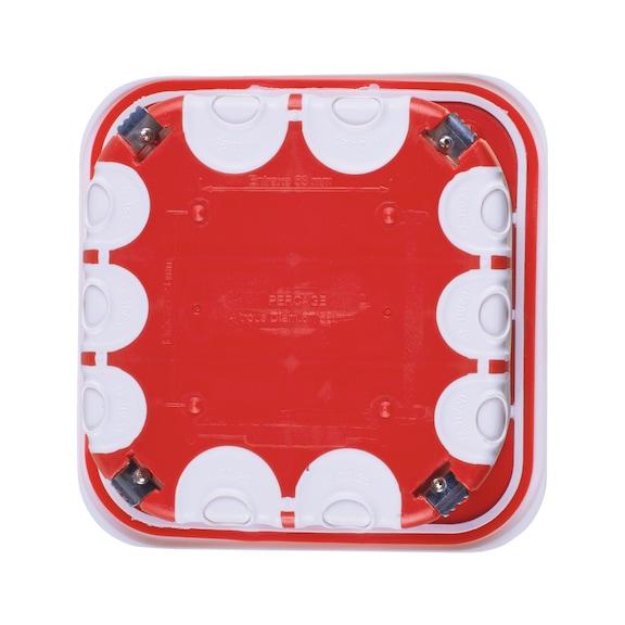 Boîte de dérivation à encastrer étanche à l'air - BOITE DE DÉRIVATION À ENCASTRER 180X180