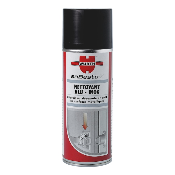 Nettoyant spray alu-inox - NETTOYANT SPRAY ALU-INOX 400ML