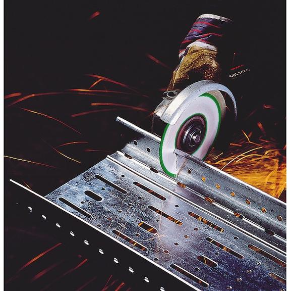 Disques à tronçonner ZIRCO+ - DISQUE TRONCO ZIRCO+ 125 X 1.6 X22.2 PLT
