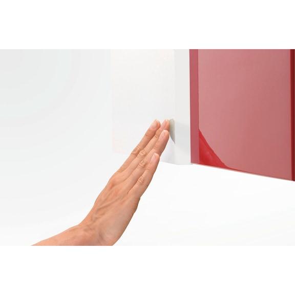 Placa adaptadora Soft-close/Tipmatic - ADAPTADOR MULTIFUROS