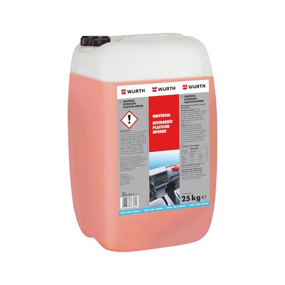 Detergente per veicoli Detergente per interno veicolo - UNIVERSAL-DETERGENTE-PLASTICHE-INT-25KG