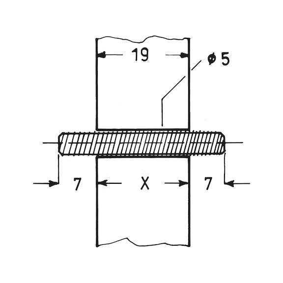 V2A DIN 913 M5x6 - - Madenschrauben - SC913 200 St/ück - aus rostfreiem Edelstahl A2 Gewindestifte mit Kegelkuppe und Innensechskant Antrieb ISO 4026