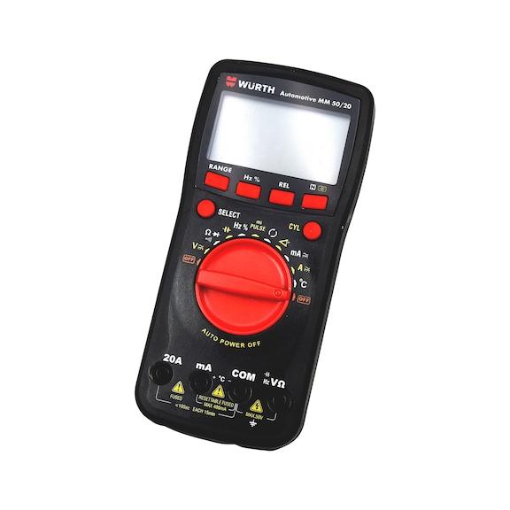 Automotive Multimeter mm 50/20