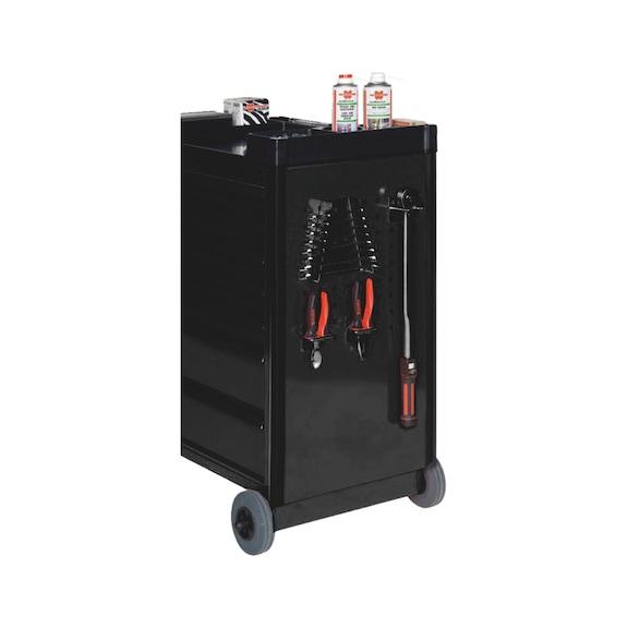 Werkplaatstrolley Compact - GEREEDSCHAPSWAGEN C7 ZWART JUBILEUM