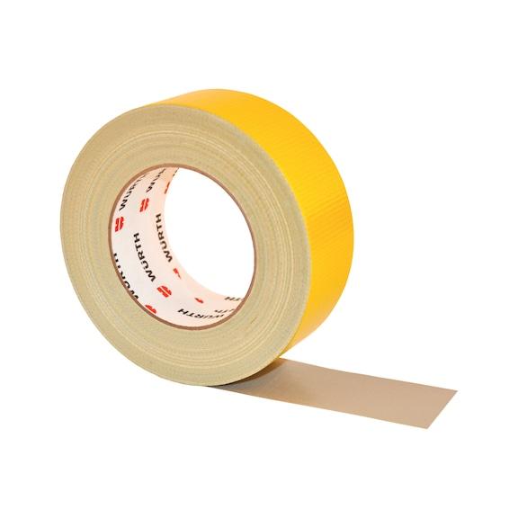 Nastro adesivo per calcestruzzo, giallo