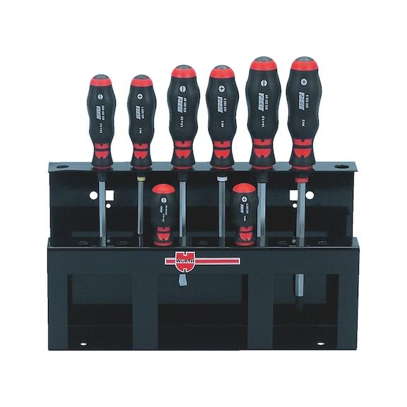 Conj chave parafusos, adaptador chave p/automóveis - 1