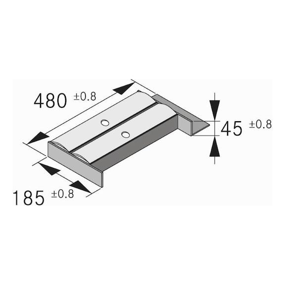 Portapellicola Tavinea 91 Nova Pro Scala - SIST-ORG-PRTPELLIC-T91-FRASS-NAT-NL500