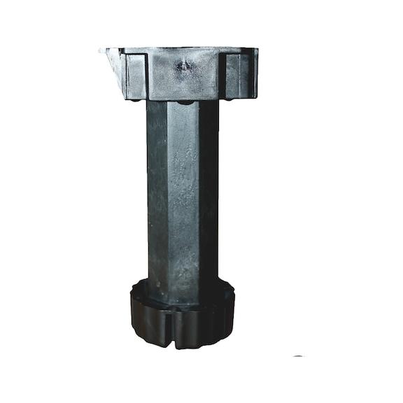 Adjustible kitchen legs plastic - AY-ADJLEG-BSEHIADJ-(140-190MM)