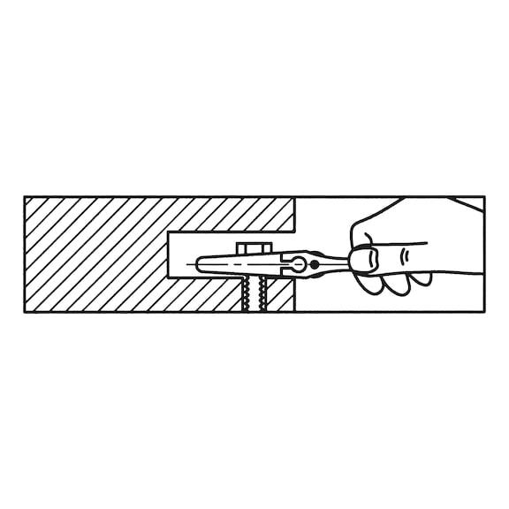 Ключ рожковый разводной - КЛЮЧ-РАЗВОДНОЙ-SW0-34