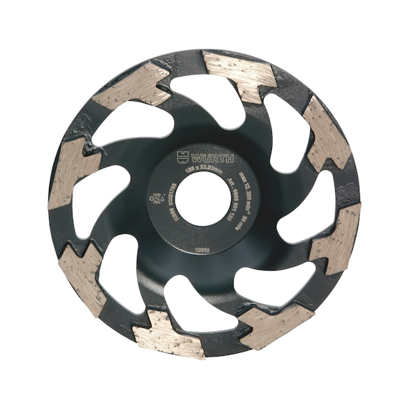 Diamond Cup Wheel for Hard Material - BR22,23 D125MM