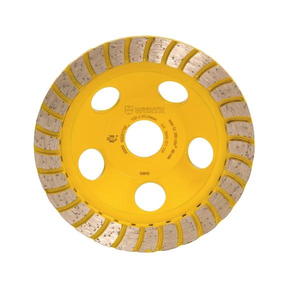 Turbo diamond cup wheel - BR22,23 D125MM