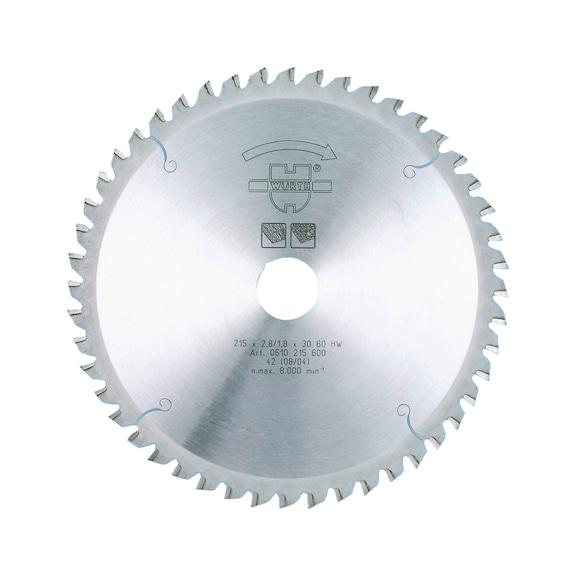 Disco de corte, madeira, para serra circular de mergulho - DISCO P/MADEIRA 165/40/20 Z. 48