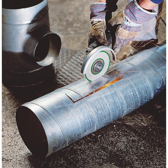 Speed cutting disc for steel - CUTDISC-SP-BLUE-ST-SR-TH1,0-BR22,2-D115