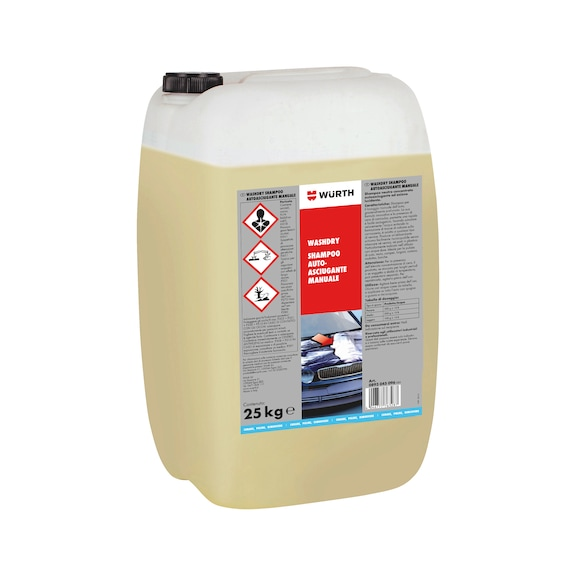 Shampoo per auto - WASHDRY-SHAMPOO-AUTOLUCIDANTE-MAN-25KG