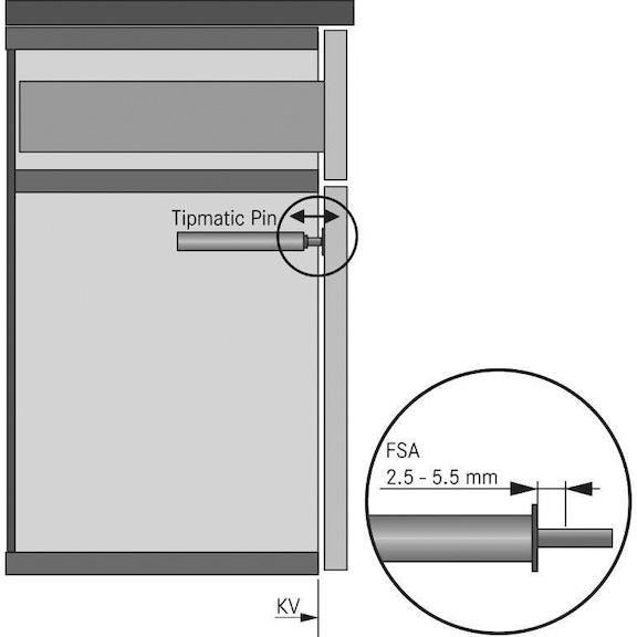 Fecho Tipmatic  - PINO TIPMATIC
