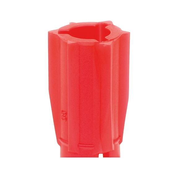 Bucha universal de plástico Zebra Shark<SUP>®</SUP> sem rebordo - 2