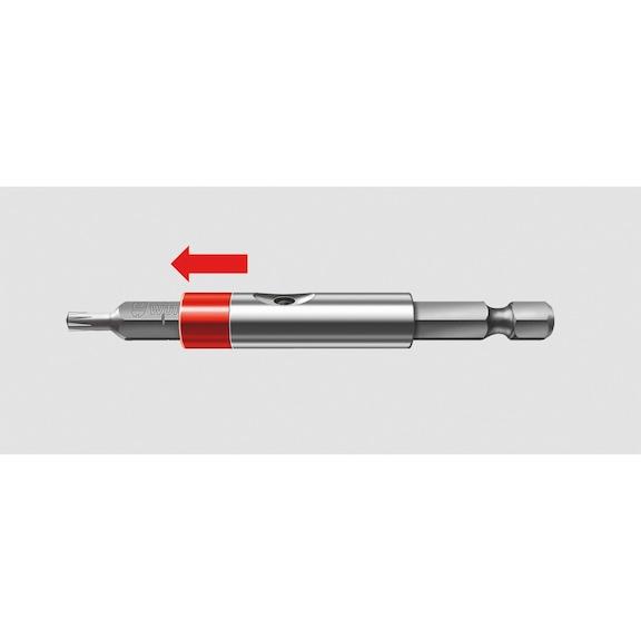 1/4 inç bits uç tutucu, manyetik - BİTS ADAPTÖRÜ-MIKNATSL.SUSTALI-1/4 -66MM
