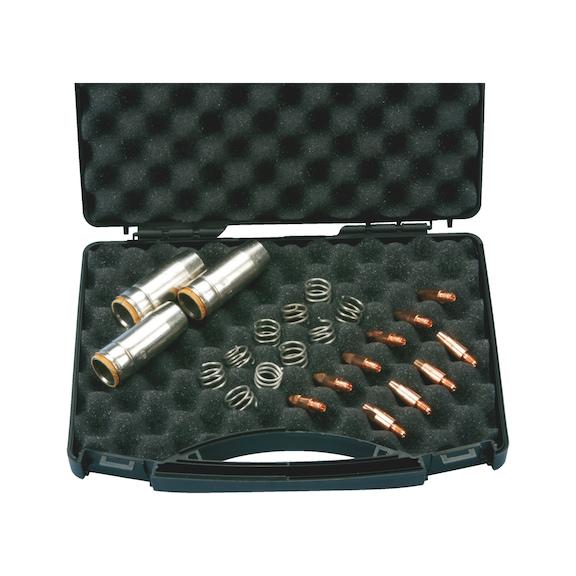 Conj. peças p/ queimador p/ MB 25 AK - KIT CONSUMIVEIS MB 25 AK