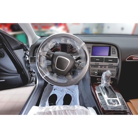 Ochr. súpr. pre interiér vozidla - OCHRANA-INTERIERU-KIT-PE-5IN1-200PCS