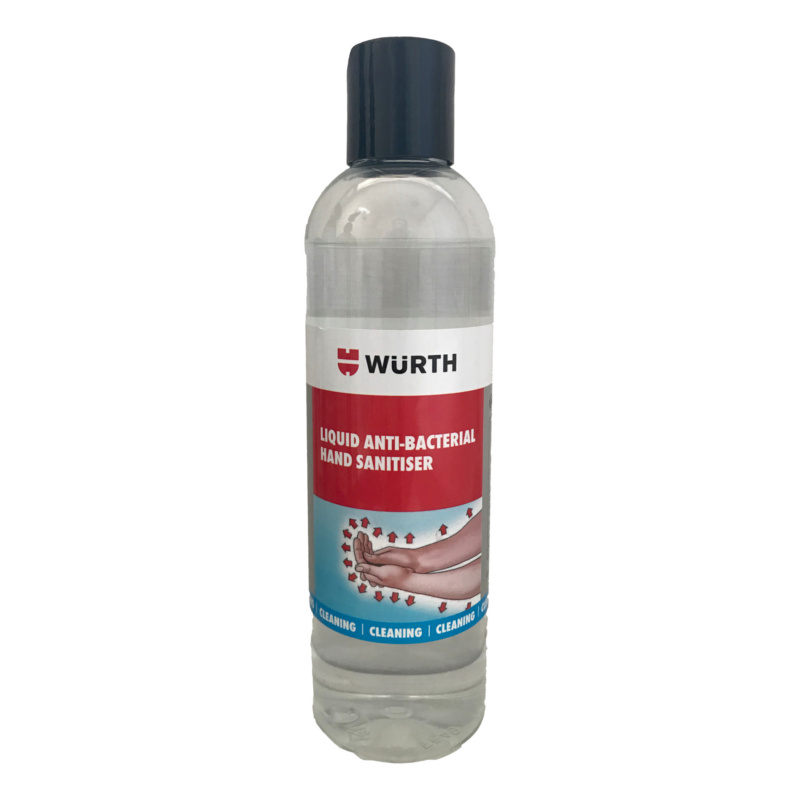 Hand disinfectant Liquid for food industries - HAND SANITISER LIQUID 250ML