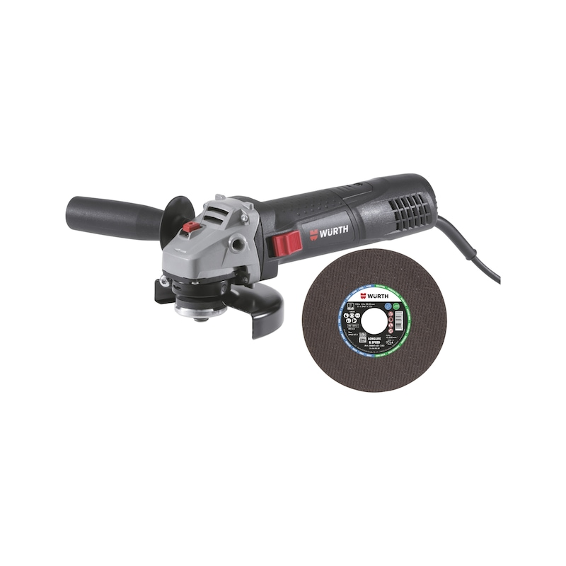 Angle Grinder and Cutting Disc Bundle - ANGLE GRINDER AND 200 x SS CUTTING DISC