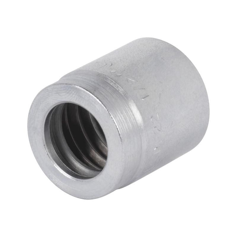 Boccola a pressare bassa pressione  - BOCCOLA-1SN/SN/2SC-DN6-1/4