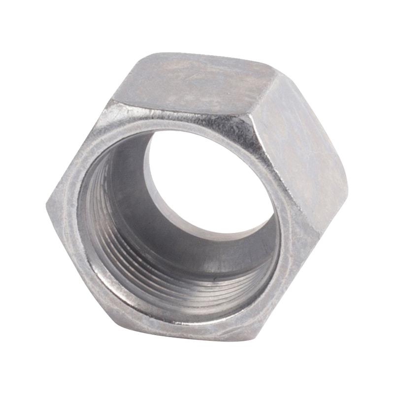 Dado di serraggio serie leggera L - DADO-DI-SERRAG-DIN2353-15L-M22X1,5