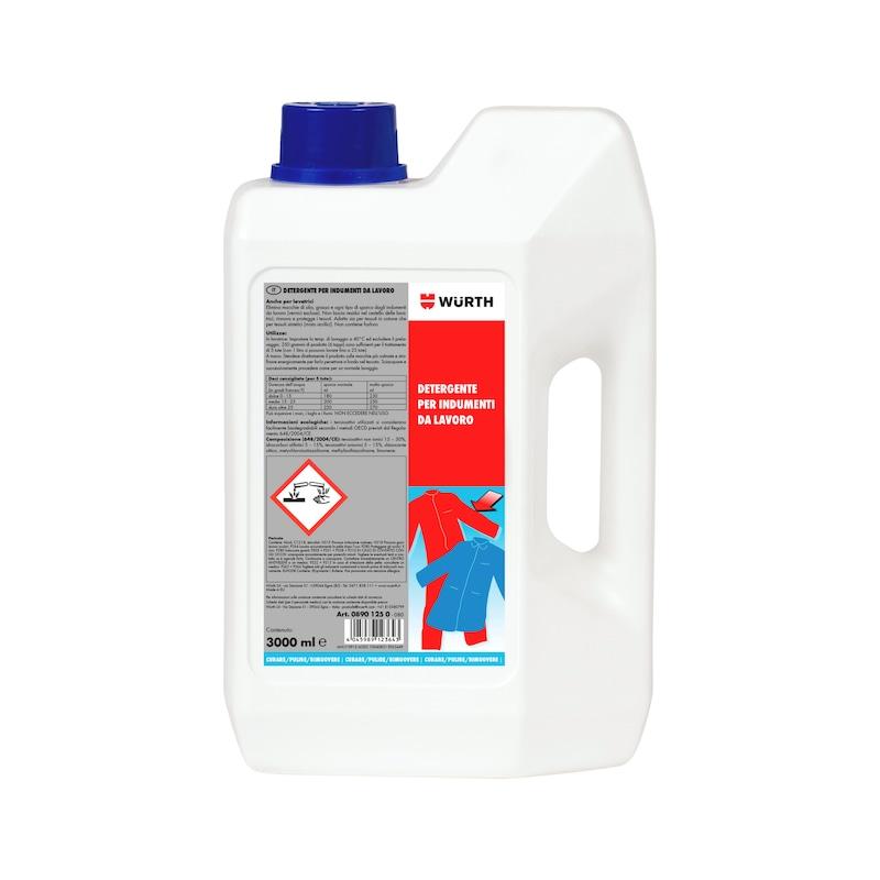 Detergente per indumenti da lavoro  - DETERGENTE P.INDUMENTI DA LAVORO  3L