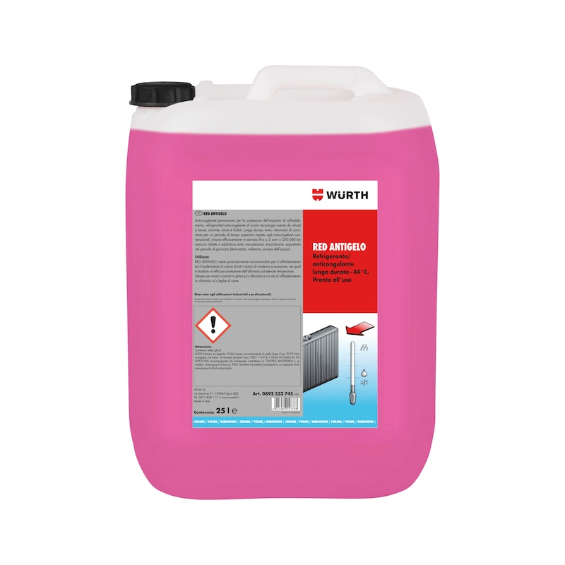 Antigelo  RED LONG LIFE - PROT. ANTIGELO  RED  DA DILUIRE  20L