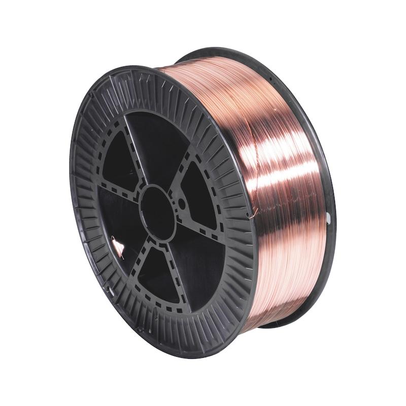 Filo per saldatura sotto gas TIPO SG2 - FILO P/SALDAURA SG2 (PLAST. 15K 0,8MM)