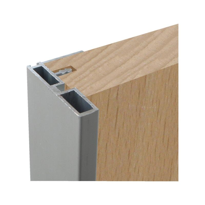 Maniglie Per Armadi Con Ante Scorrevoli.Maniglia Profilo In Alluminio Per Porta Scorrevole Wurth