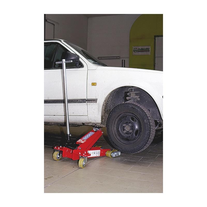 Sollevatore idraulico speciale a carrello - 4