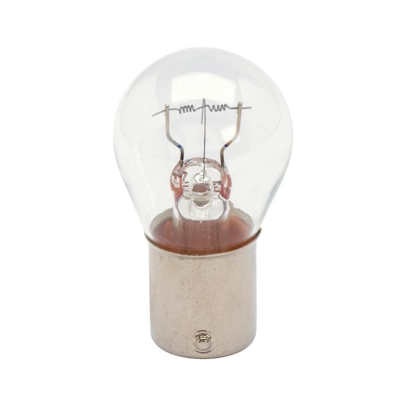 Lampe pour clignotant et feu stop Longlife extra robuste - STOP 1FHEAVY DUTY 24V    21W P21W