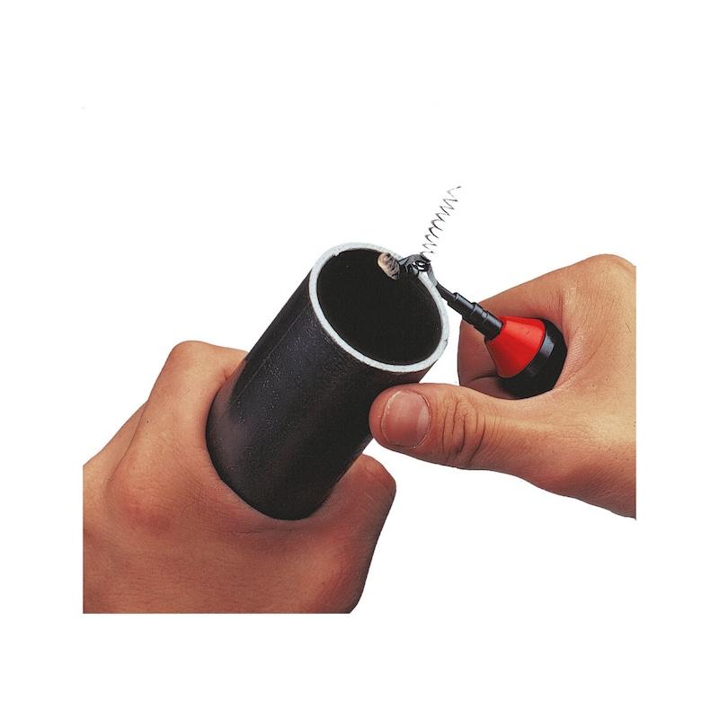 Çapak alma aleti  - ÇAPAK ALMA BIÇAĞI-AÇILI-HSS-PLASTİK KOL