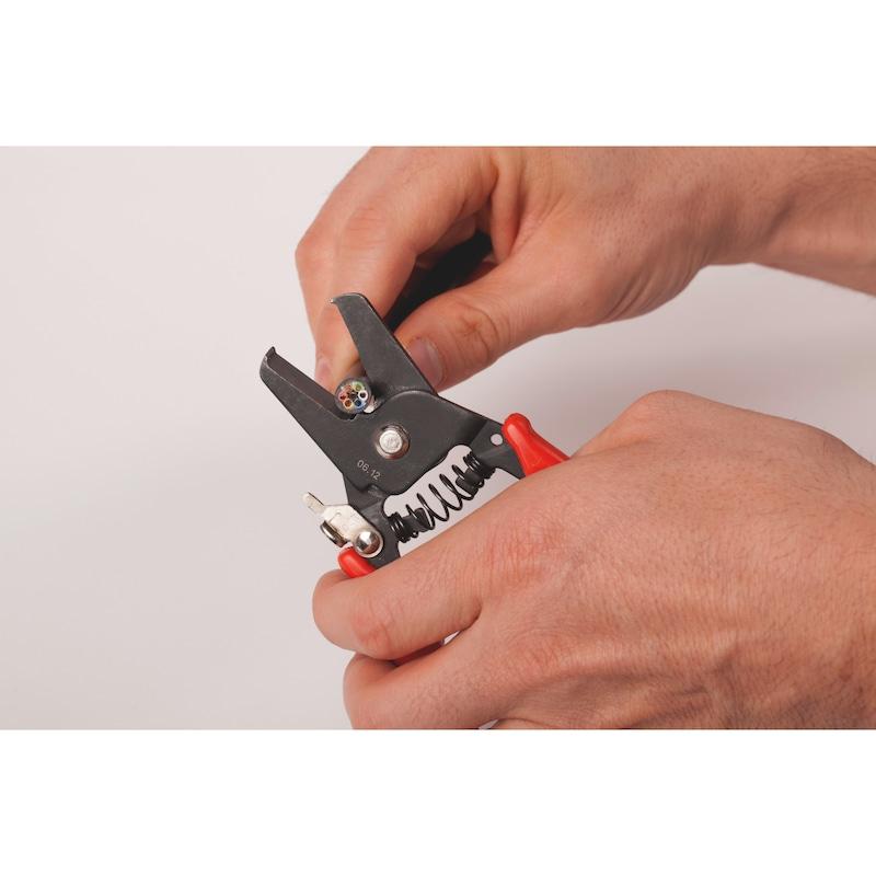 Pince coupe colliers plastiques et coupe câble - 3