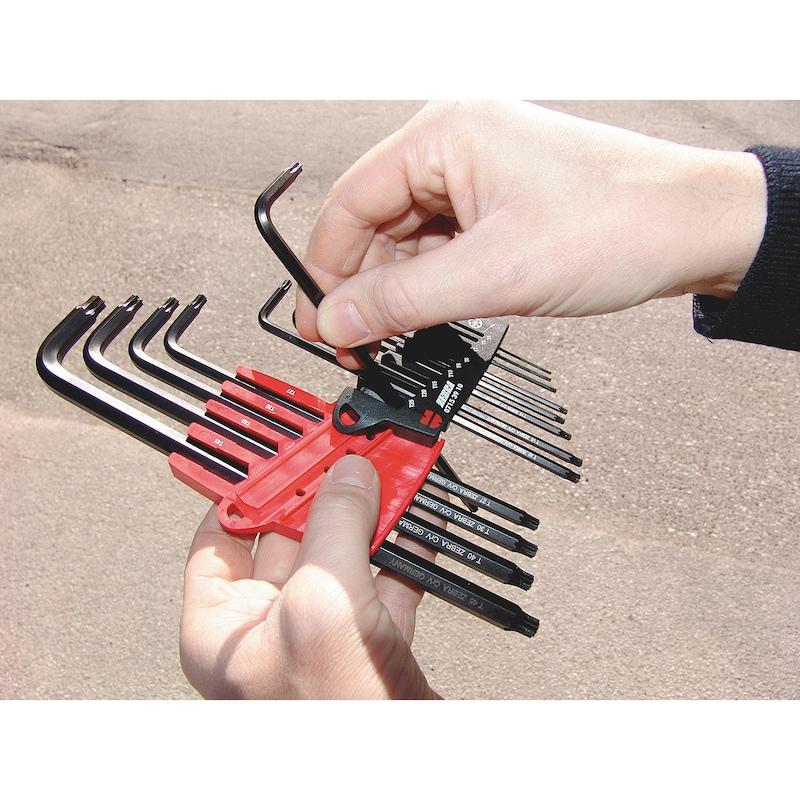 Alyan anahtarı seti  TX - 4