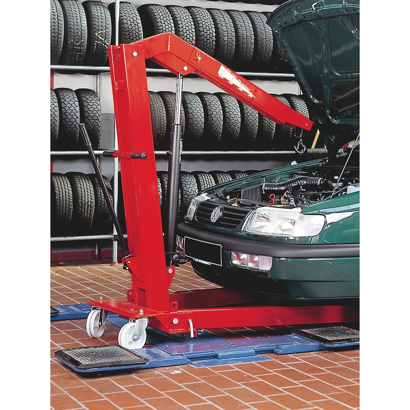 Grue d'atelier pliante hydraulique - 4