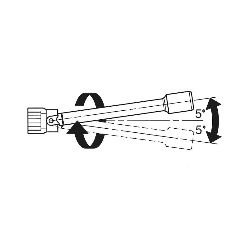 1/4 Zoll Winkelverlängerung - WNKLVERL-1/4ZO