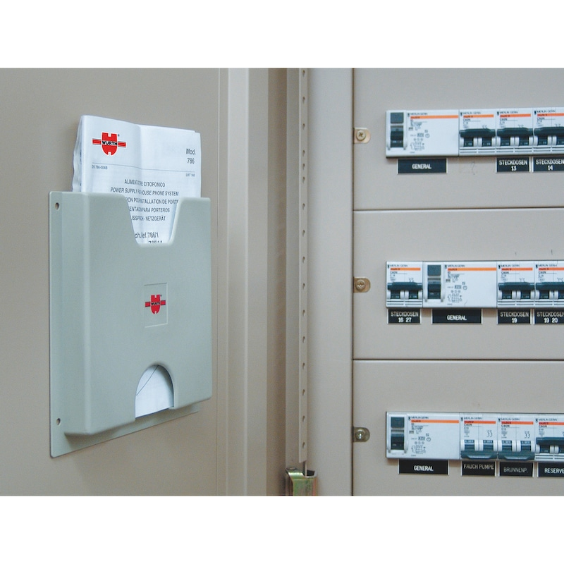 Portaschema per quadri elettrici