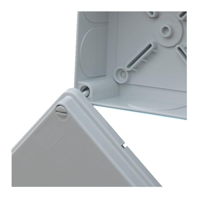 Boîte de dérivation, fermeture par clipsage - BOITE DE DERIVATION FERMETURE A CLIP