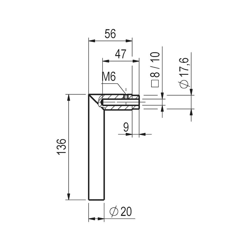 Wechselgarnitur S 45 - SBS-ALU-S45-ES1-WE-ZA-92-15-F9/A2-OPTIK