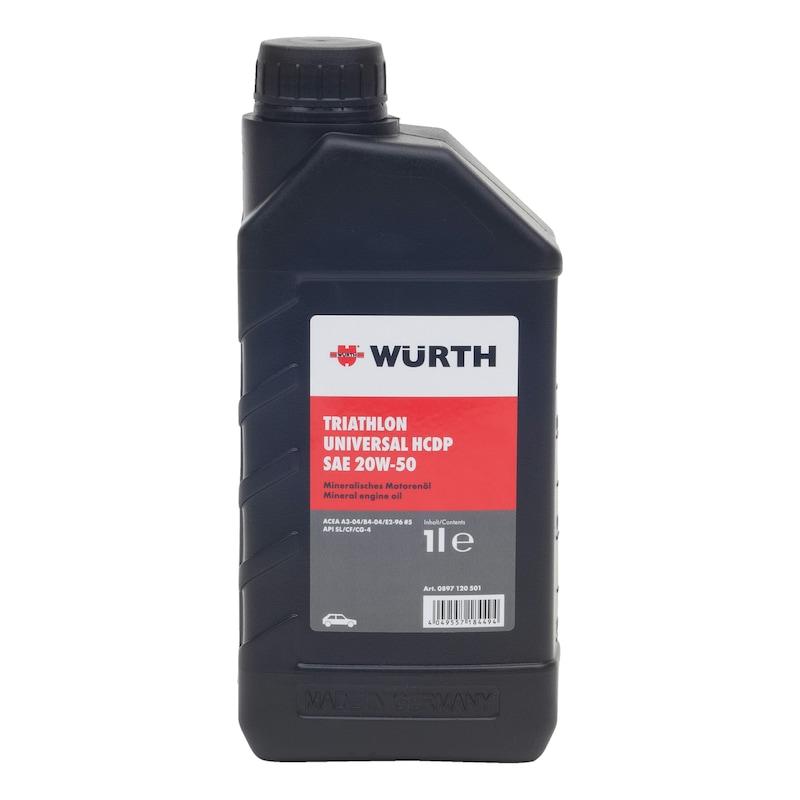 Engine oil TRIATHLON<SUP>®</SUP> Ultra 10W-40 - ENGOIL-ULTRA-10W40-1LTR