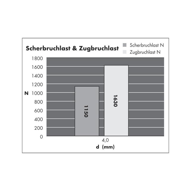 Blindniet Flachkopf - 3