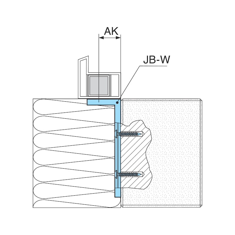Montagewinkel - MNTGWNKL-JB-W-(SZN)-120X58X55