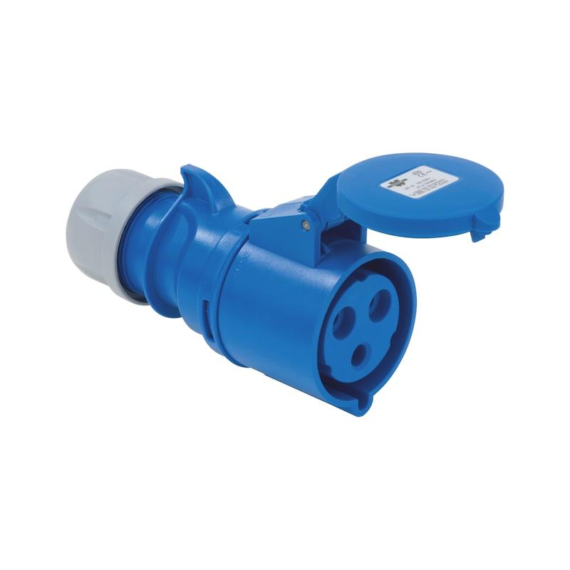 Presa CEE 250 V / 400 V, 6 H - PRESA IEC60309 IP44 2P/T 32A-250V